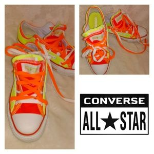 🚃Converse All Star🚃 Double tounge low tops